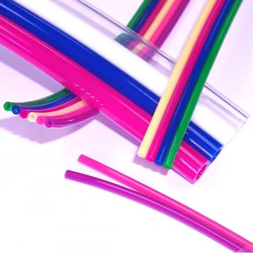 1/4 OD x 1/8 ID Multi-Color Ribbon Tubing