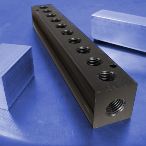 10-Station Aluminum Manifolds