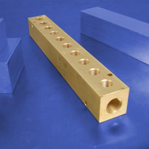 10-Station Brass Manifolds