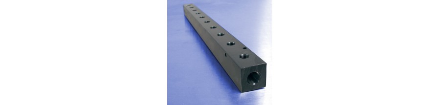 10-Station Pneumatic Manifolds (1.5inch Spacing)