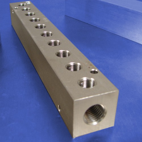 10-Station Stainless Steel Manifolds