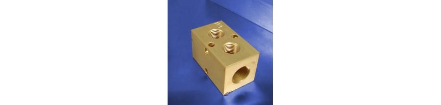 2-Station Brass Manifolds
