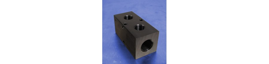 2-Station Pneumatic Manifolds (1.5inch Spacing)