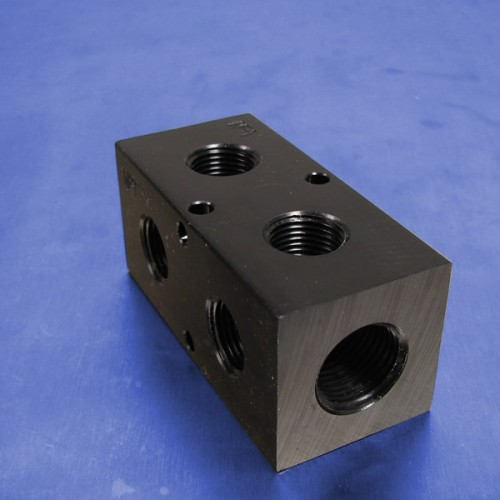 2-Station Pneumatic Manifolds (90 degree Output Ports, 1.5inch Spacing)