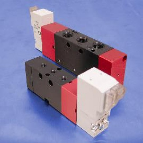 24-Volt DC Solenoid Operated Valves (3-Way, Normally Closed)