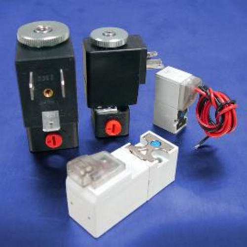 3-Way Normally Closed Solenoid Valves