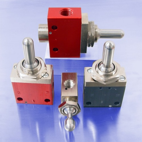 3-Position Toggle Valves