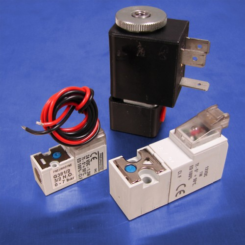 3-Way Normally Open Solenoid Valves