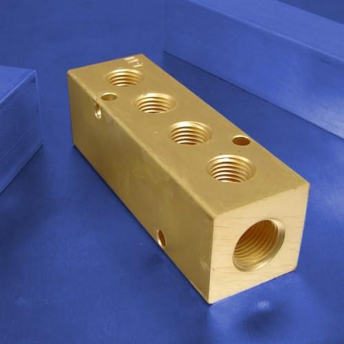 4-Station Brass Manifolds