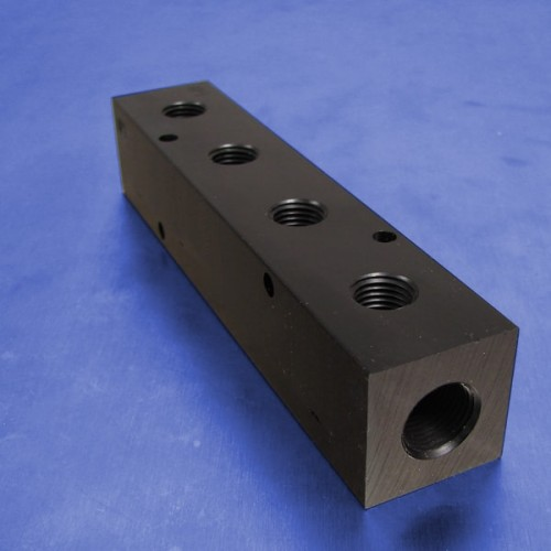4-Station Pneumatic Manifolds (1.5inch Spacing)