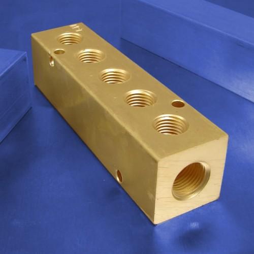 5-Station Brass Manifolds