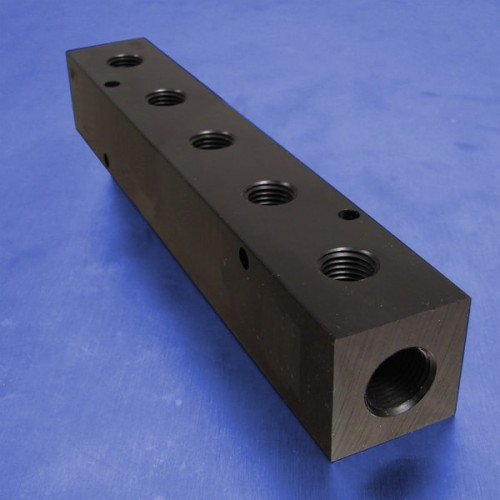 5-Station Pneumatic Manifolds (1.5inch Spacing)
