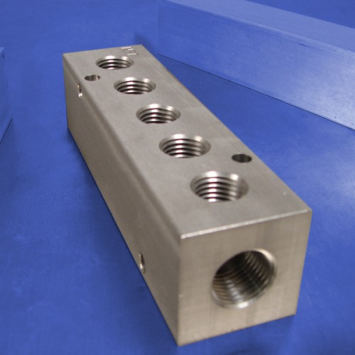 5-Station Stainless Steel Manifolds
