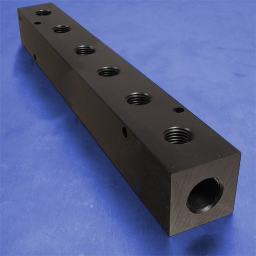 6-Station Pneumatic Manifolds (1.5inch Spacing)