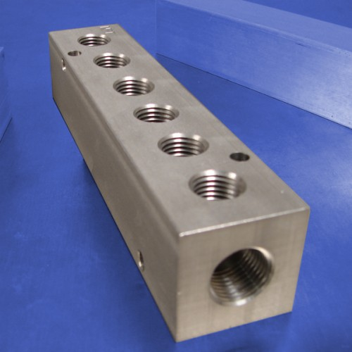 6-Station Stainless Steel Manifolds