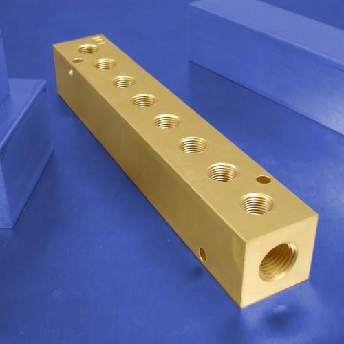 8-Station Brass Manifolds