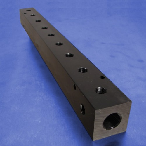 9-Station Pneumatic Manifolds (1.5inch Spacing)