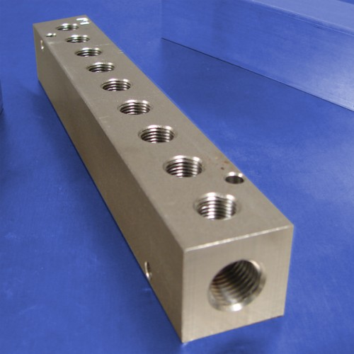 9-Station Stainless Steel Manifolds