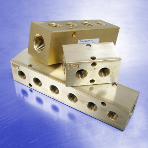 Brass Pneumatic Manifolds