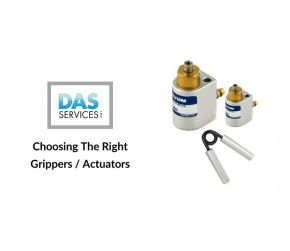 Choosing The Right Grippers/Actuators