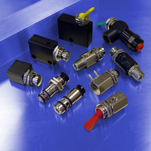 3-Way Normally Closed Control Valves
