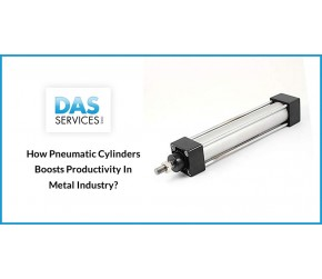 How Pneumatic Cylinders Boost Productivity in Metal Industry