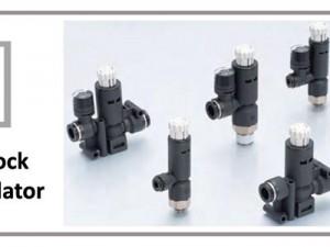 Pisco Push-Lock Pressure Regulator with Gauge Option