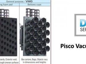 Pisco Vacuum Grippers - End of Arm Tooling for Large Objects