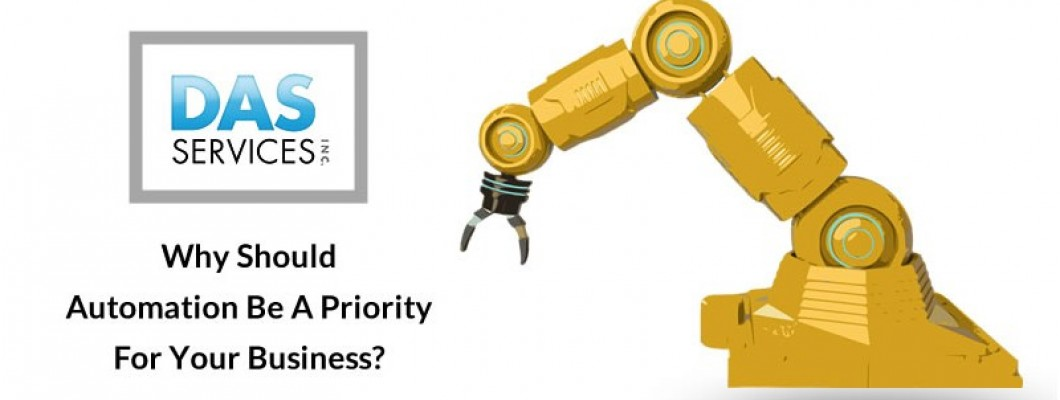 Why Should Automation Be A Priority For Your Business?