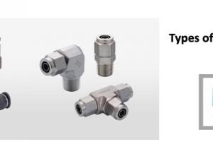 Types of Pisco Tube Fittings