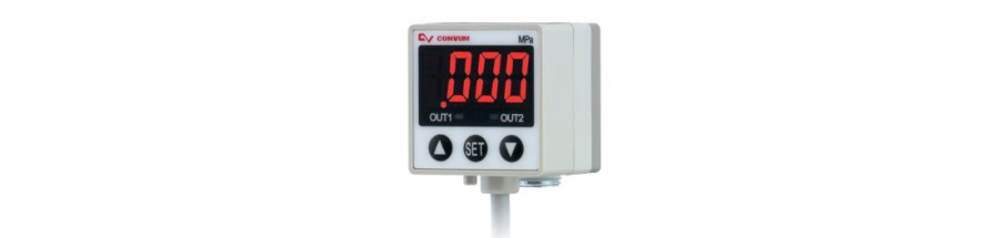 Digital Display Pressure Sensors (MPS-33 Series)