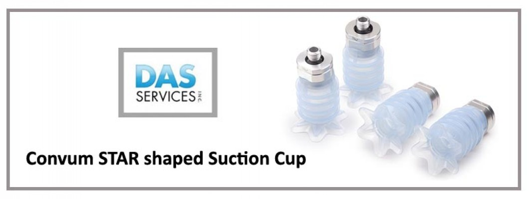 Convum STAR Shaped Suction Cup - PM Series