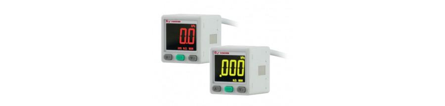 2-color Display Pressure Sensors (MPS-34 Series)